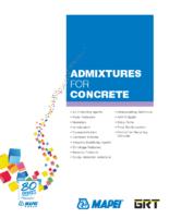 Mapei Catalog_Admixtures_for_Concrete_EN
